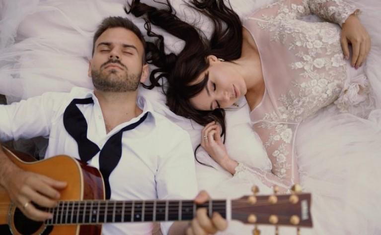 Romantyczny  ślub Patrycji i Wojtka. Produkcja: Magicznypixel