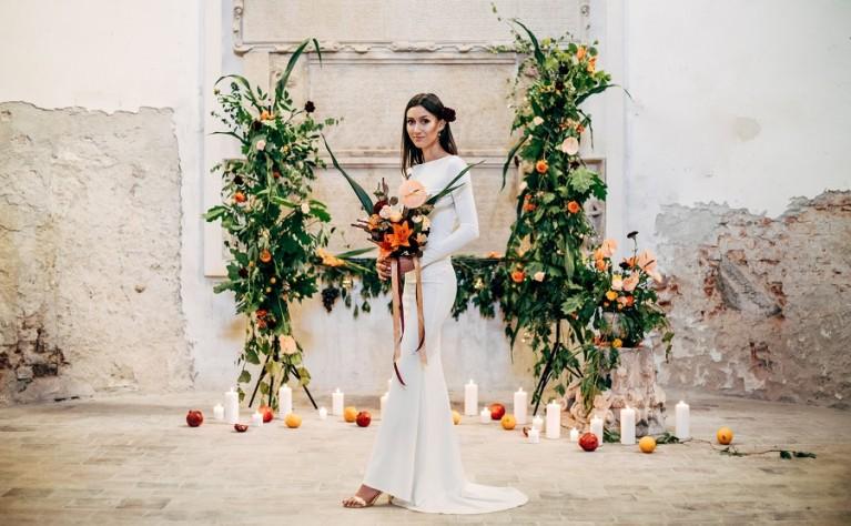 Symfonia Barw Inspiracja ślubna w stylu śródziemnomorskim