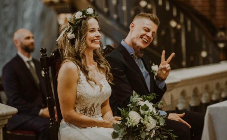 Ania i Łukasz | Impresja Zabrze, rustykalne wesele,  ANNA WIĘCŁAWSKA FOTOGRAFIA