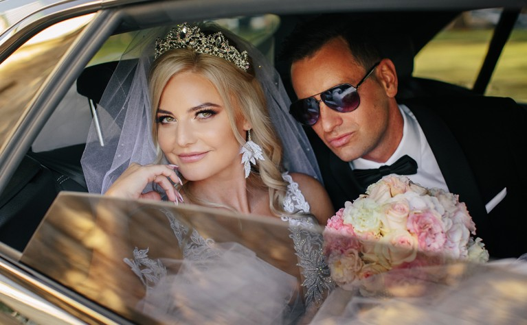 Glamour wedding - ślub Kasi i Michała, FOTOGRAFIA: KARETTA.PL