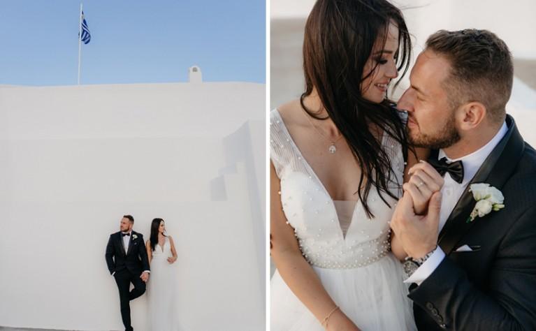 Ślub na Santorini – Ewelina & Wojtek, Fotografia: Cztery Kadry