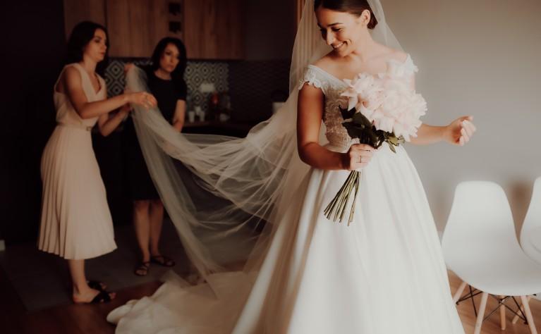 Here comes the Bride czyli PRZYGOTOWANIA PANNY MŁODEJ, Fotografia: Katarzyna Bezak Studio