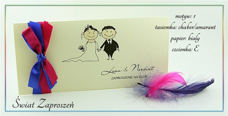 Zaproszenia ślubne Na Wesoło Slubnaglowiepl