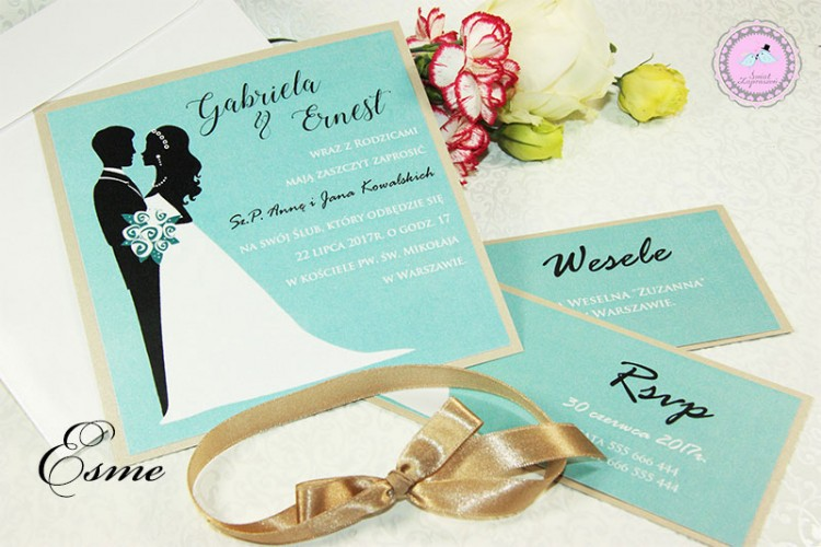Zaproszenia Ślubne - Esme