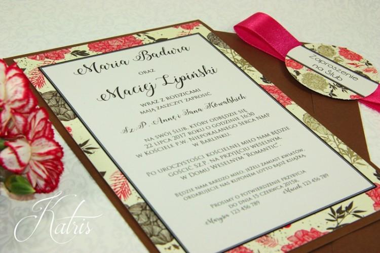 Zaproszenia Ślubne - Katris