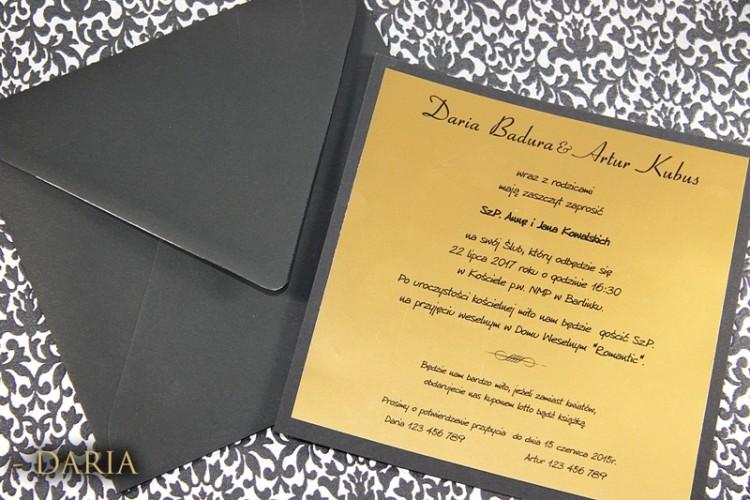Zaproszenia Daria