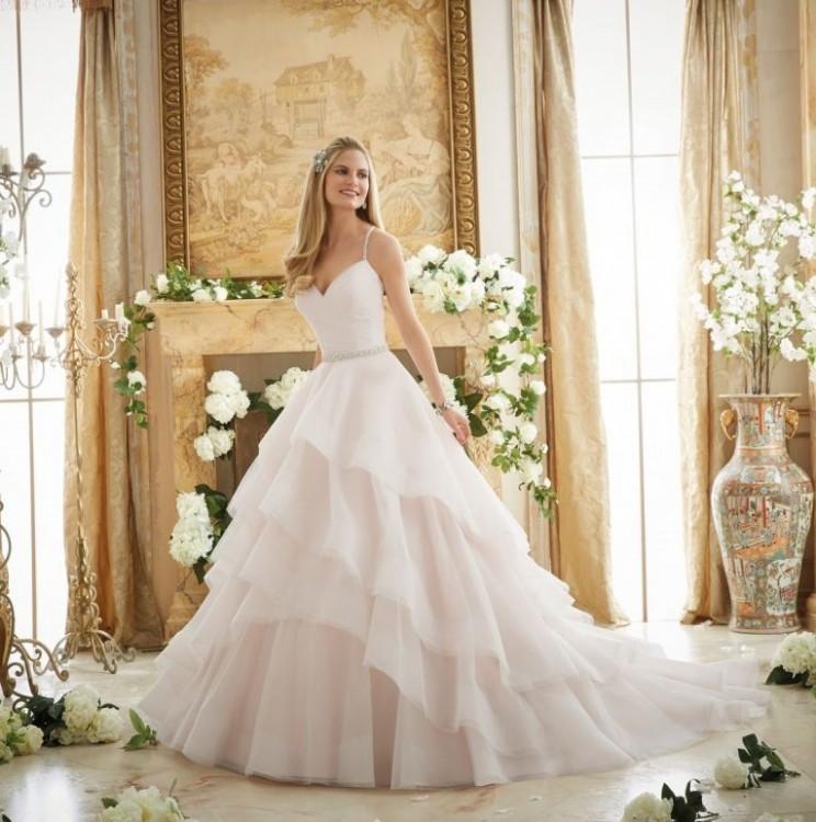 Wymarzona suknia ślubna Mori Lee dla księżniczki 2873