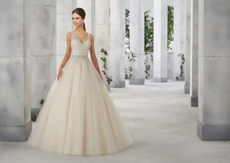 Suknia ślubna Mori Lee Femme 51242 Slubnaglowiepl