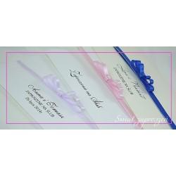 Zaproszenia ślubne JULIA