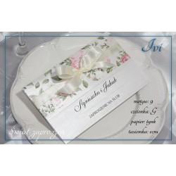 Zaproszenia ślubne IVI