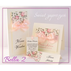 Zaproszenia ślubne BELLA 2