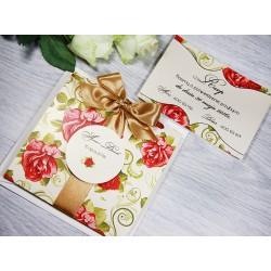 Zaproszenia ślubne ROSE