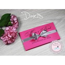 Zaproszenia ślubne DORIS