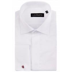 Koszula Giuliano biała na spinkę