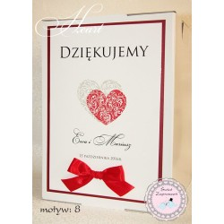 Pudełko na koperty - Heart