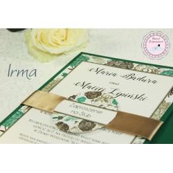 Zaproszenia Ślubne - Irma