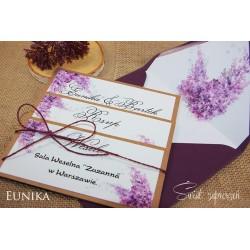 Zaproszenia Ślubne - Eunika