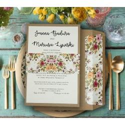 Zaproszenia Ślubne - Iga