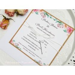 Zaproszenia ślubne Floreko