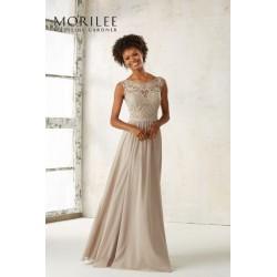 Elegancka, suknia wieczorowa Mori Lee, z szyfonu 21522