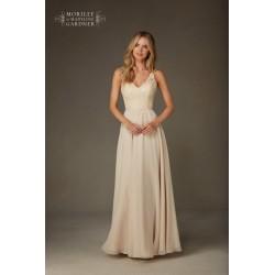 Długa wieczorowa suknia Mori Lee