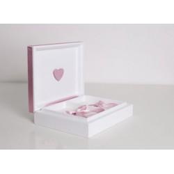 KASTYLIA Pudełko na obrączki WYBIERZ kolor pod swój ślub!