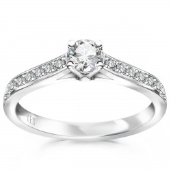 Éternel - pierścionek z diamentami