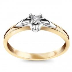 Amore - pierścionek z diamentem