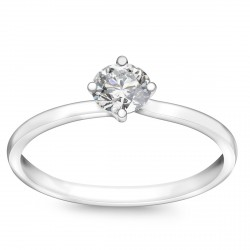 Valentine - pierścionek z diamentem
