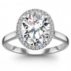 Jubilé - złoty pierścionek z topazem i diamentami