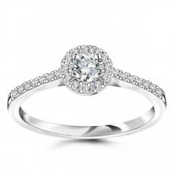 Metropolitan - pierścionek z diamentami