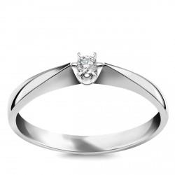 Stella - pierścionek z diamentem