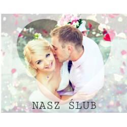 Nasz ślub - Fotoksiążka  25x20