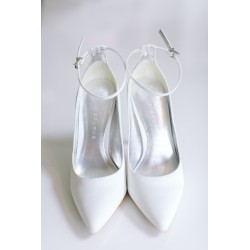 Kiss Wedding Shoes | Eve łamana biel