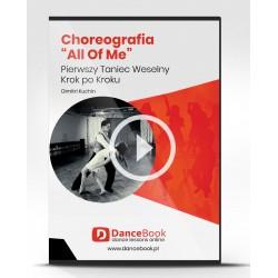 "Kurs Choreografii Pierwszego Tanca John Legend ""All of Me"""
