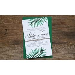 Zaproszeia ślubne Luna Palm