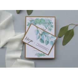 Zaproszenia ślubne Great Succulent