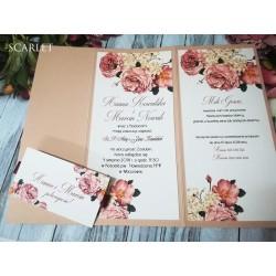 Zaproszenia Ślubne Scarlet