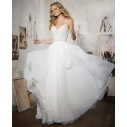Lejąca spódnica sukni ślubnej Mori Lee 8106