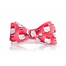 Czerwona, świąteczna mucha w mikołaje!