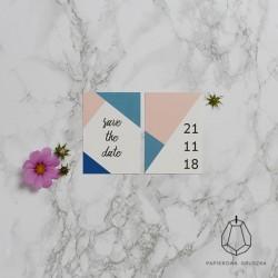 SAVE THE DATE ZOSIA + HUBERT
