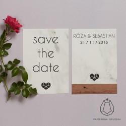 SAVE THE DATE RÓŻA + SEBASTIAN