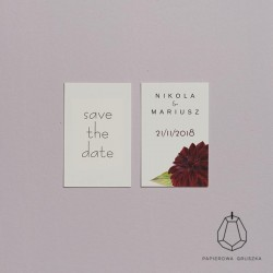 SAVE THE DATE NIKOLA + MARIUSZ