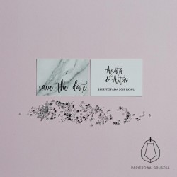 SAVE THE DATE AGATA + ARTUR