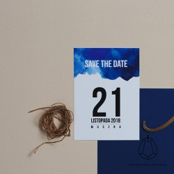 SAVE THE DATE EMILIA + TOMASZ II