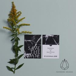 SAVE THE DATE BARBARA + KRZYSZTOF