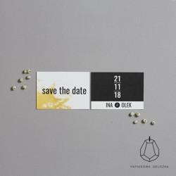 SAVE THE DATE INA + OLEK