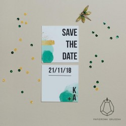 SAVE THE DATE KAROLINA + ADAM