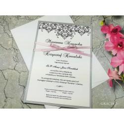 zaproszenie ślubne Marilyn