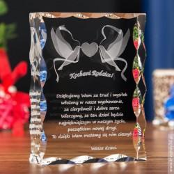 Pamiątka Ślubu » Gołąbki Miłości « duża ozdobna